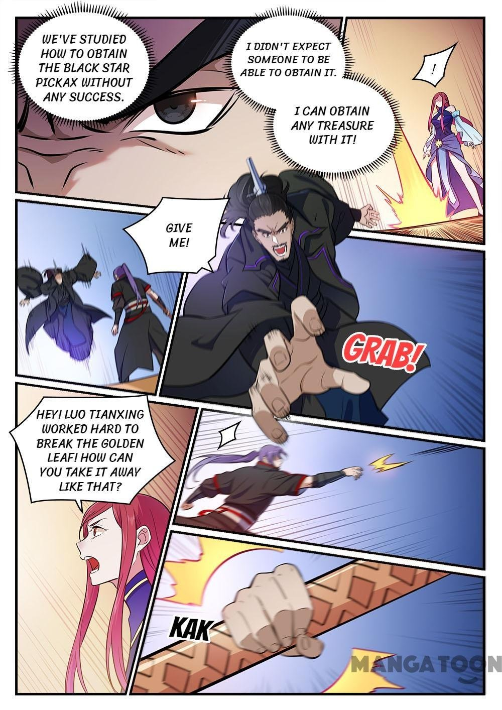 Manga Apotheosis - Chapter 421 Page 11