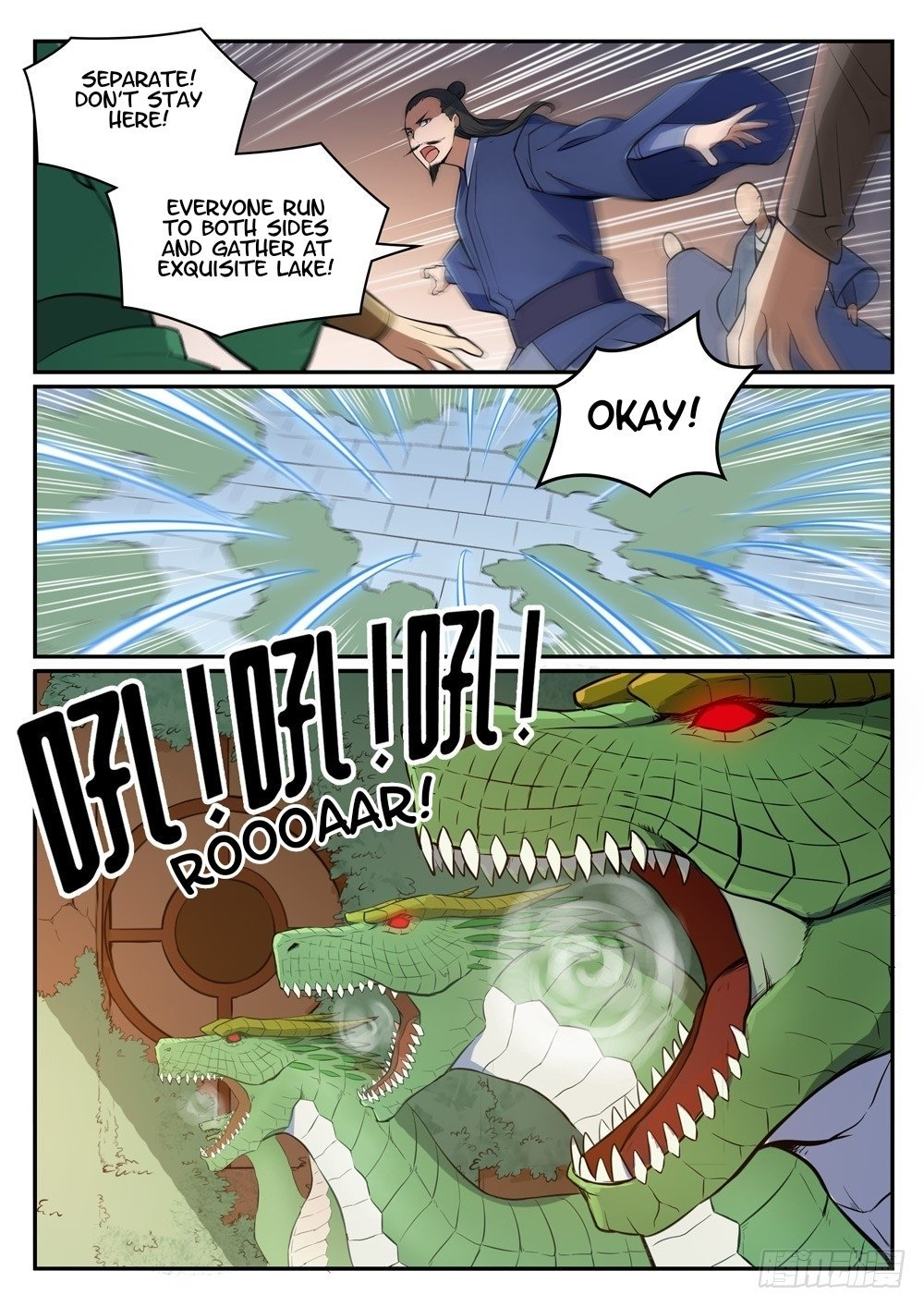 Manga Apotheosis - Chapter 445 Page 10