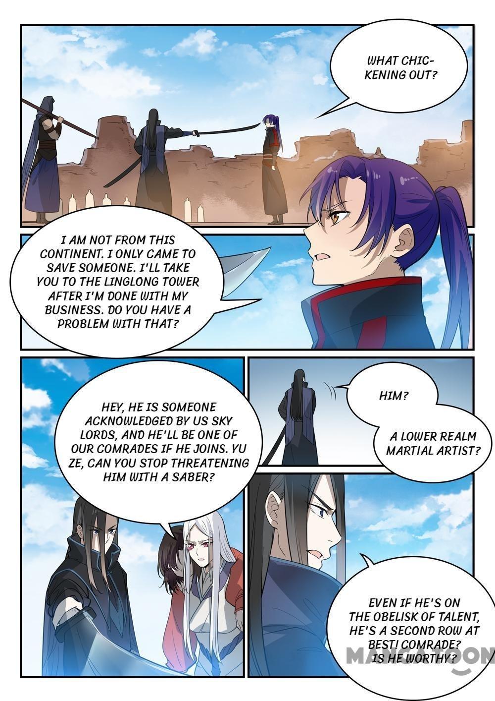 Manga Apotheosis - Chapter 456 Page 1