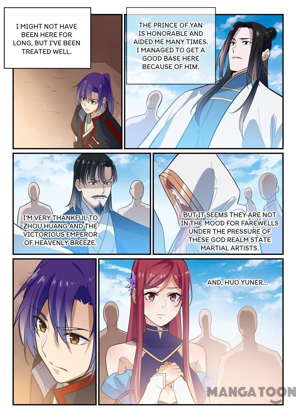 Manga Apotheosis - Chapter 456 Page 10