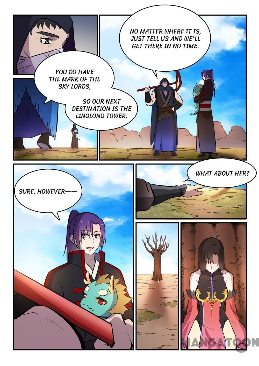 Manga Apotheosis - Chapter 455 Page 8