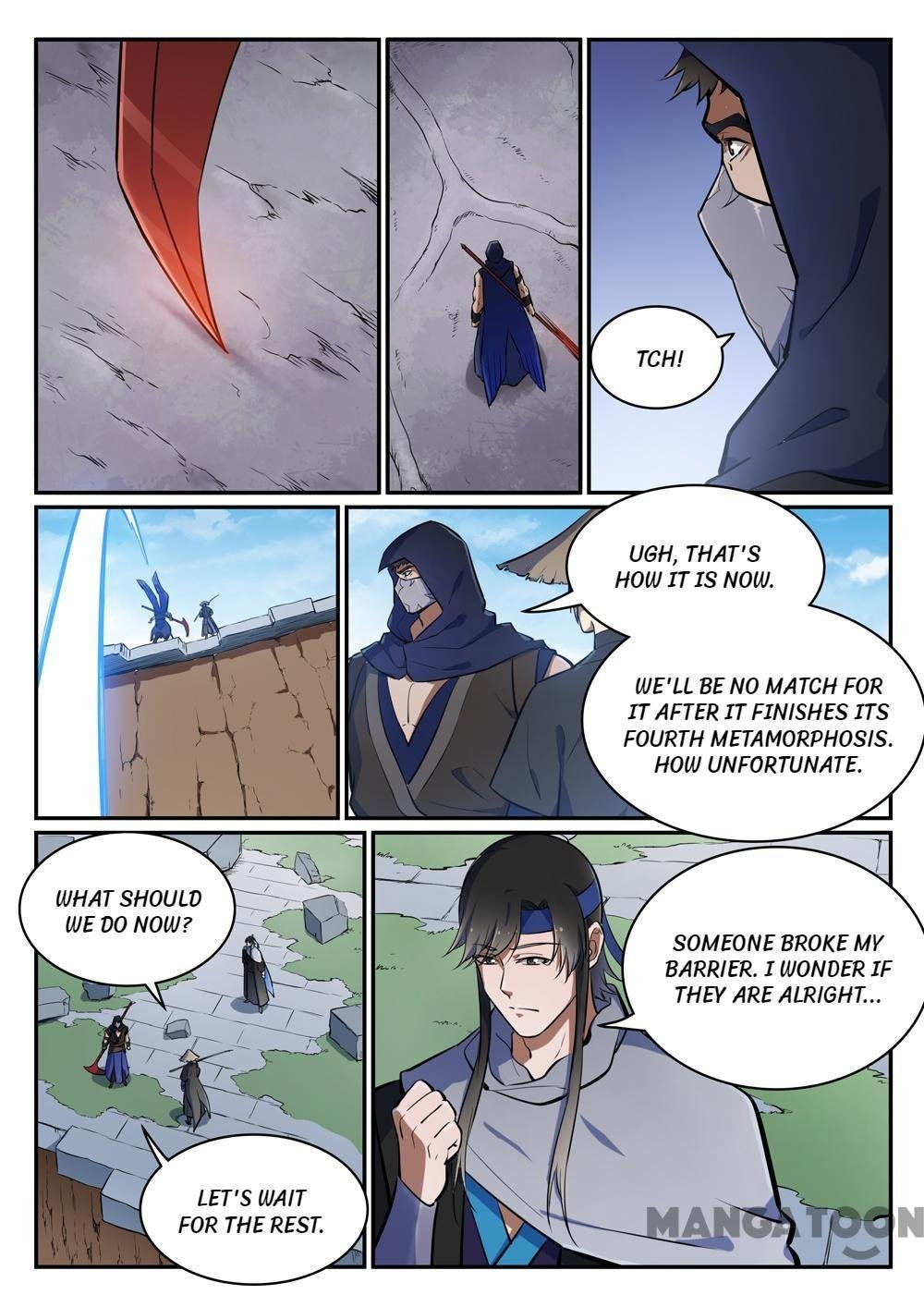 Manga Apotheosis - Chapter 453 Page 11