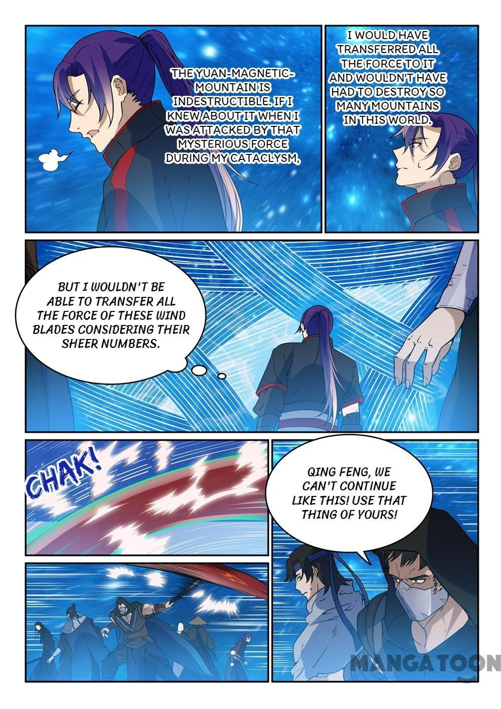 Manga Apotheosis - Chapter 458 Page 3