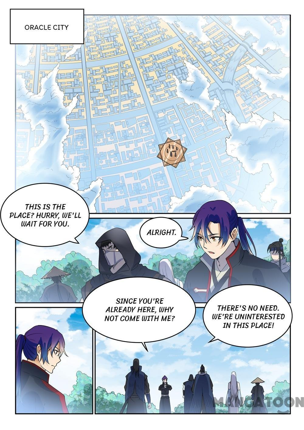 Manga Apotheosis - Chapter 458 Page 13