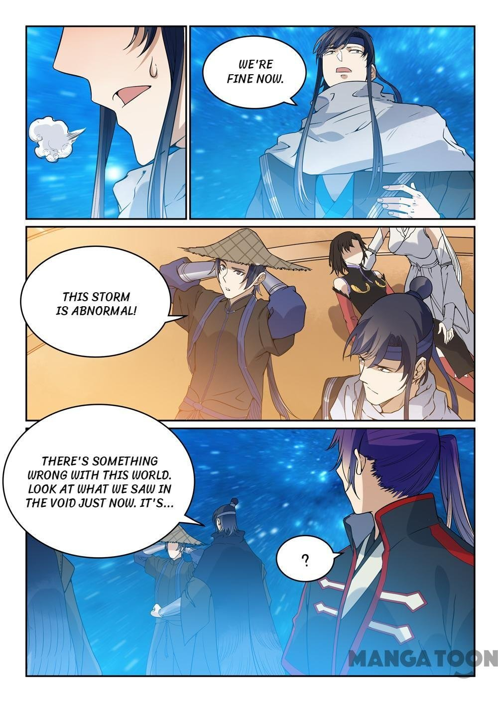 Manga Apotheosis - Chapter 458 Page 8