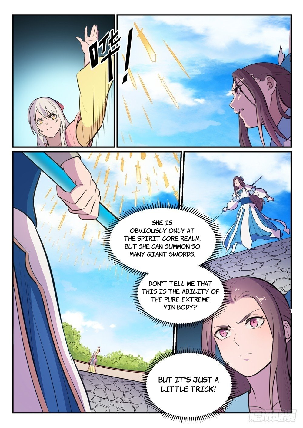 Manga Apotheosis - Chapter 473 Page 9
