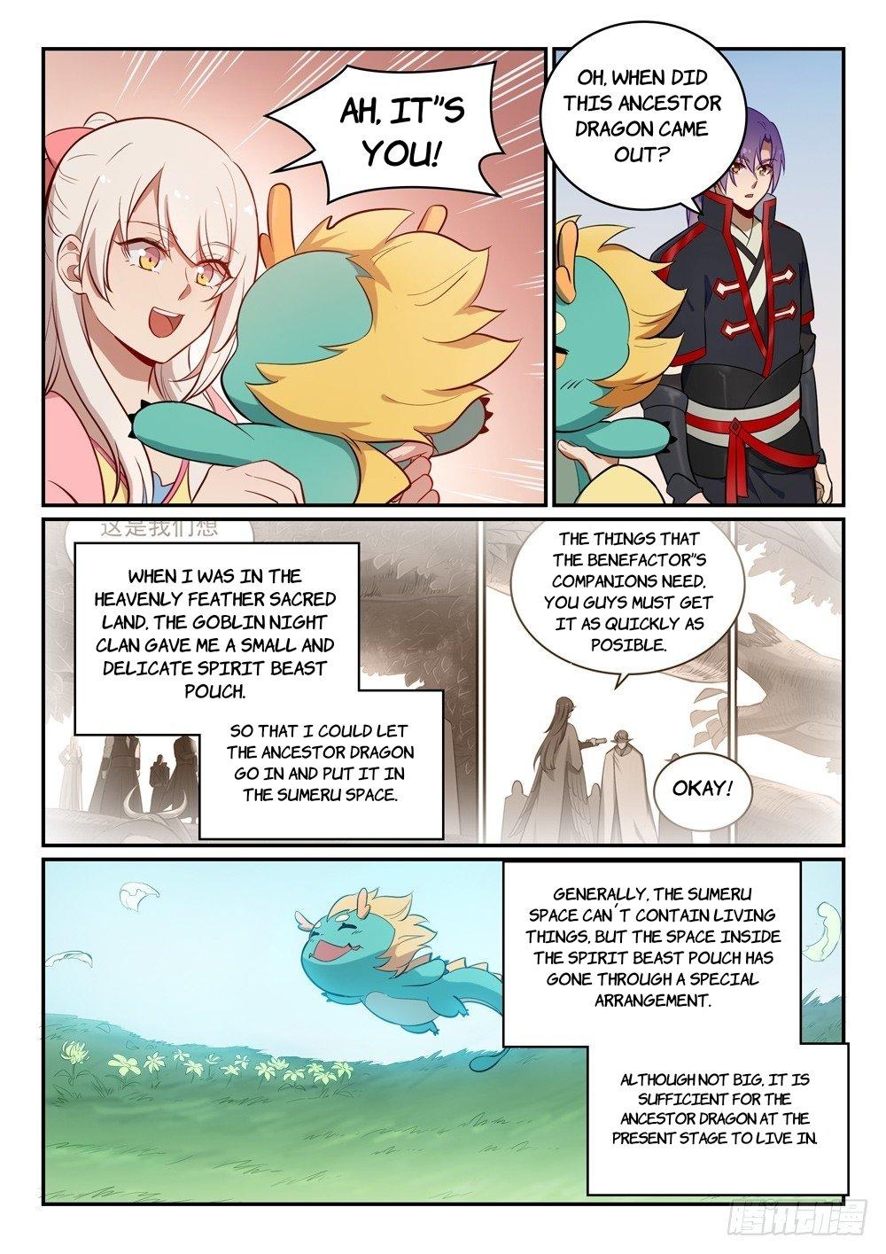 Manga Apotheosis - Chapter 474 Page 9