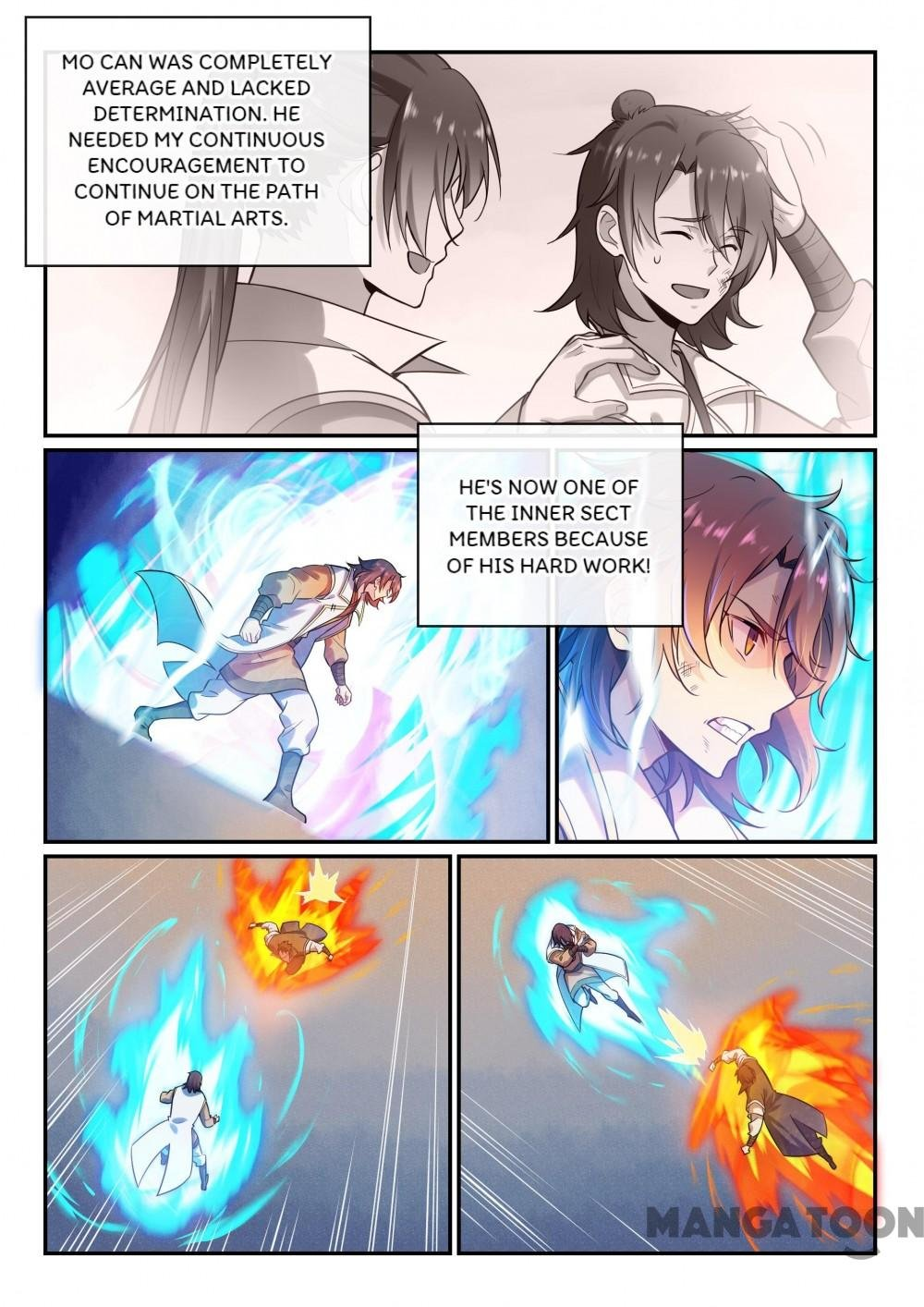 Manga Apotheosis - Chapter 483 Page 4