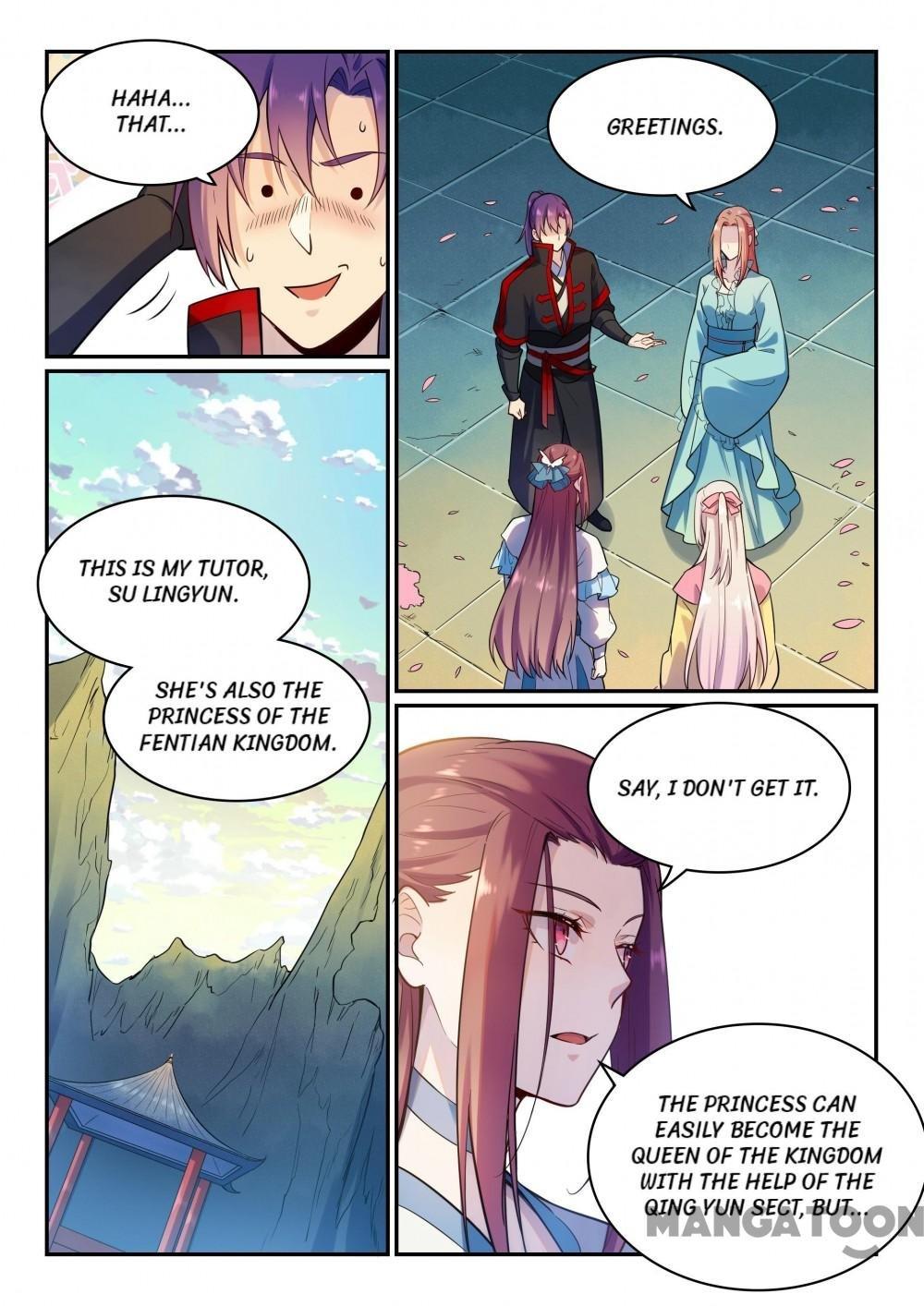 Manga Apotheosis - Chapter 483 Page 13