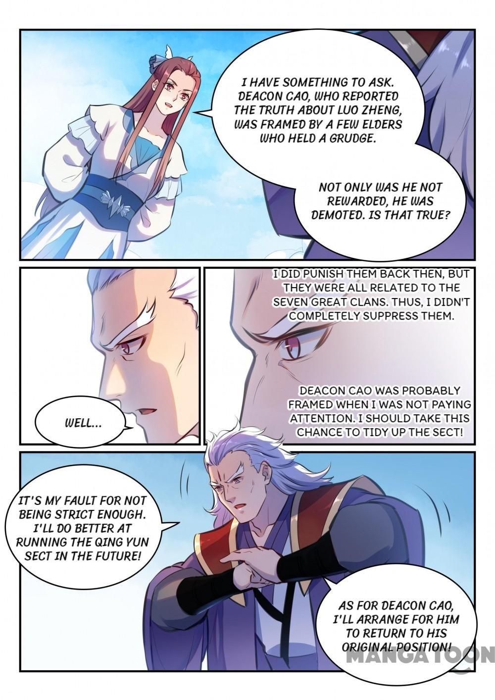 Manga Apotheosis - Chapter 482 Page 12