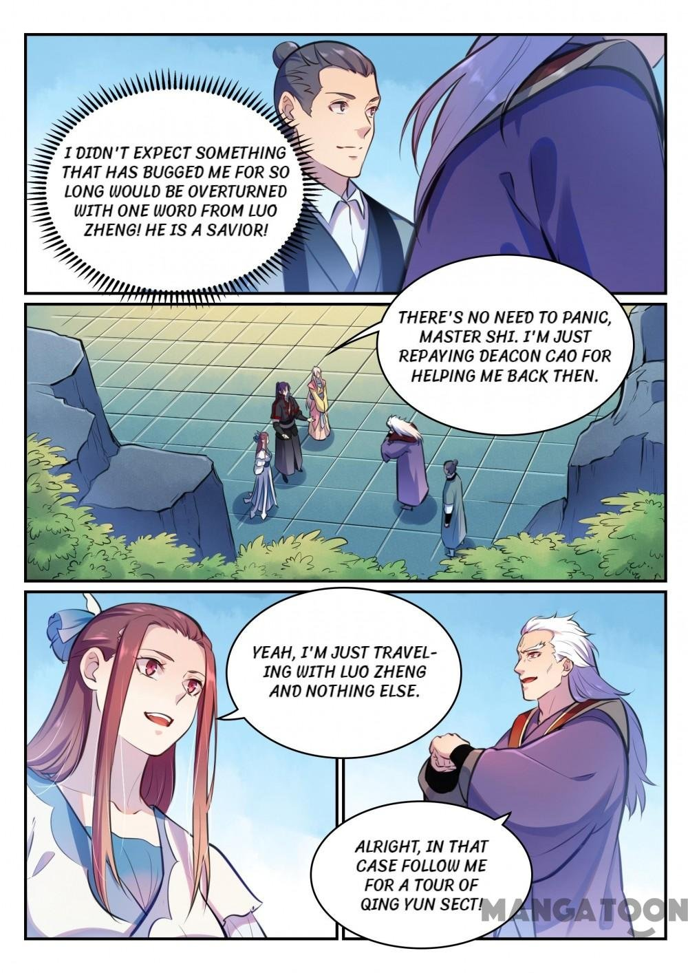 Manga Apotheosis - Chapter 482 Page 13