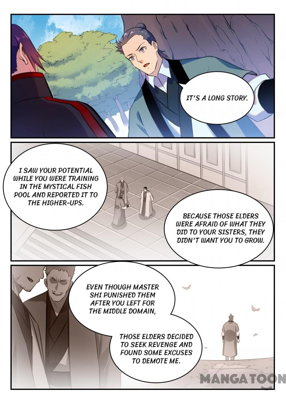 Manga Apotheosis - Chapter 482 Page 7