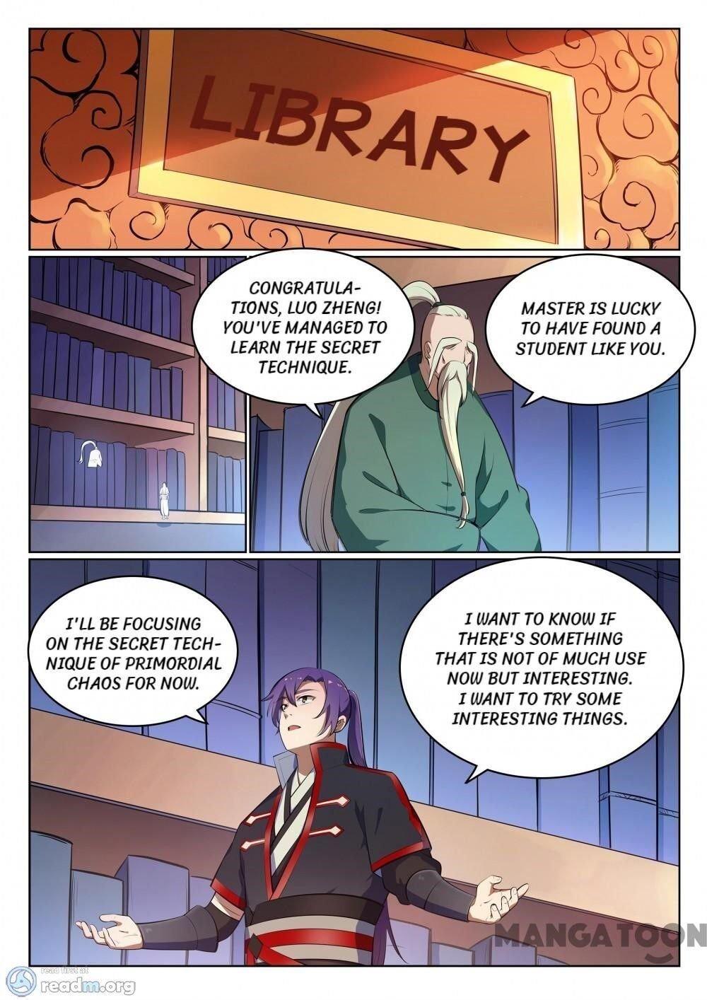 Manga Apotheosis - Chapter 494 Page 3