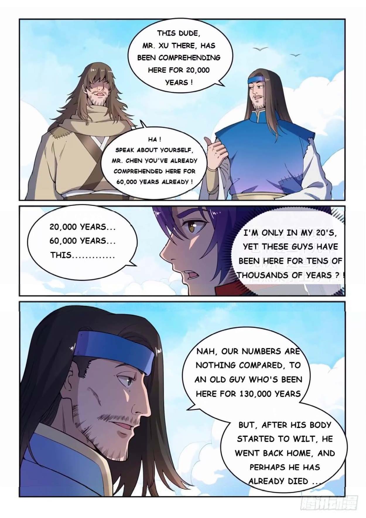 Manga Apotheosis - Chapter 524 Page 2