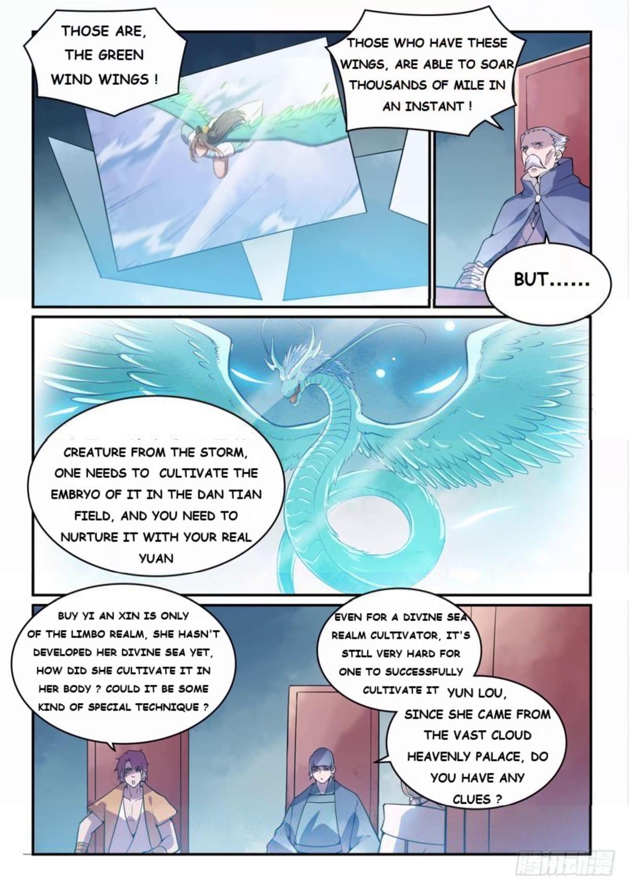 Manga Apotheosis - Chapter 527 Page 1