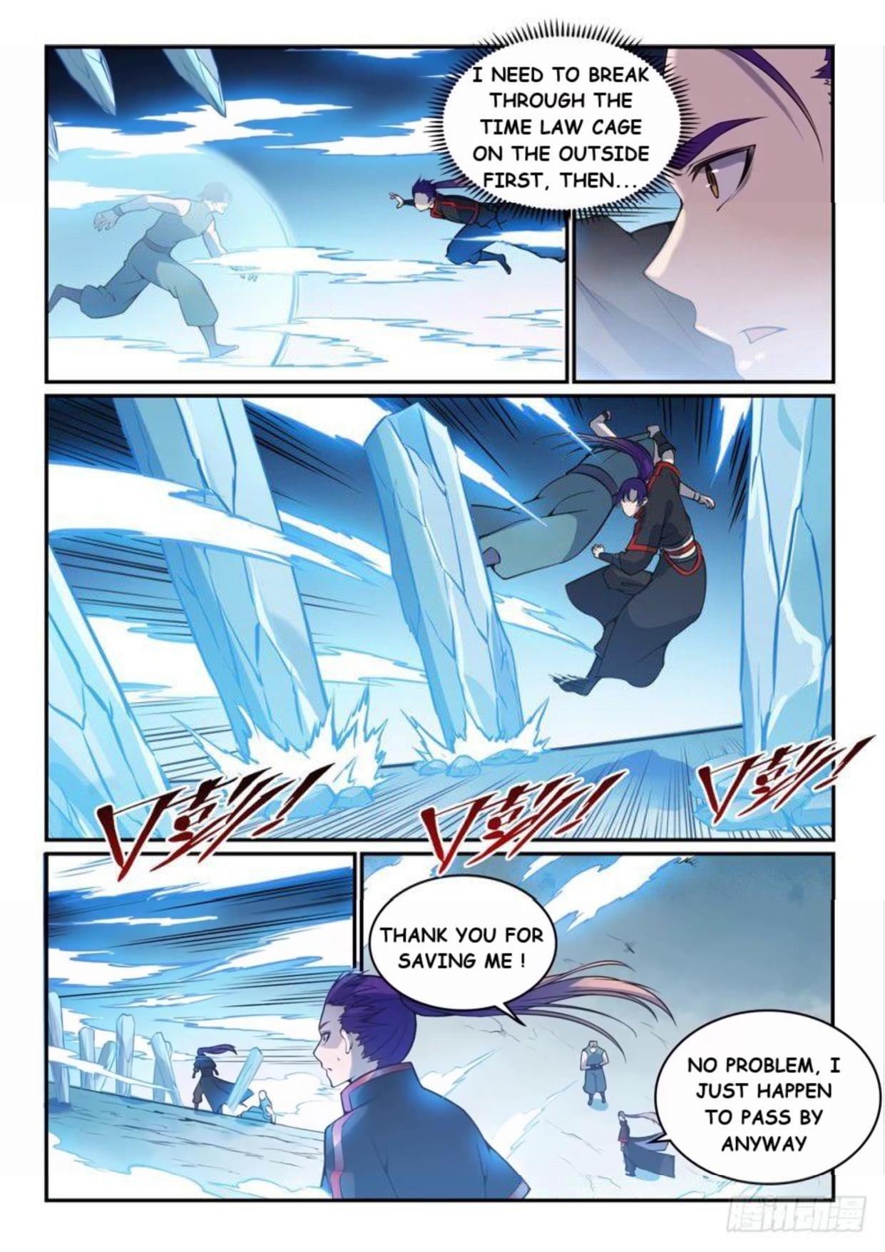 Manga Apotheosis - Chapter 527 Page 10
