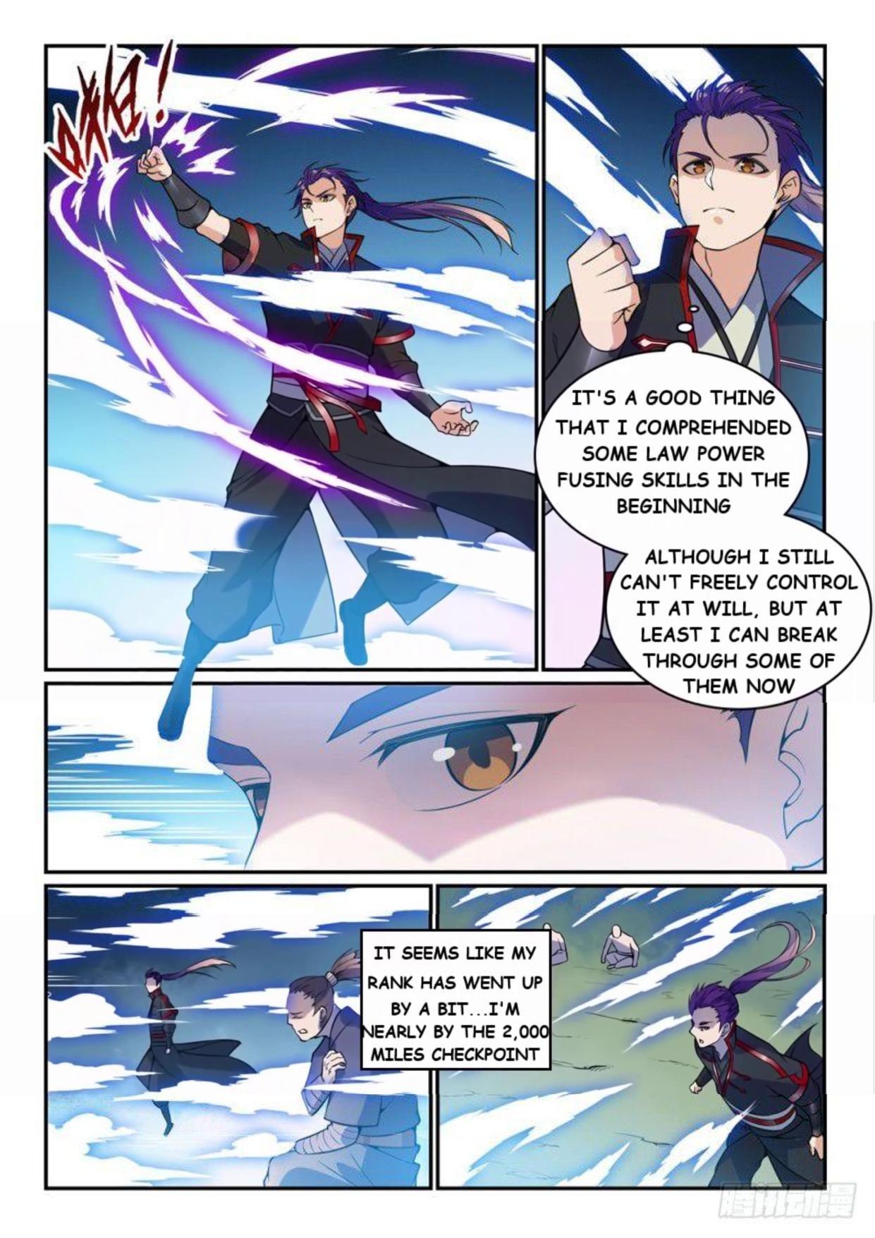 Manga Apotheosis - Chapter 527 Page 8