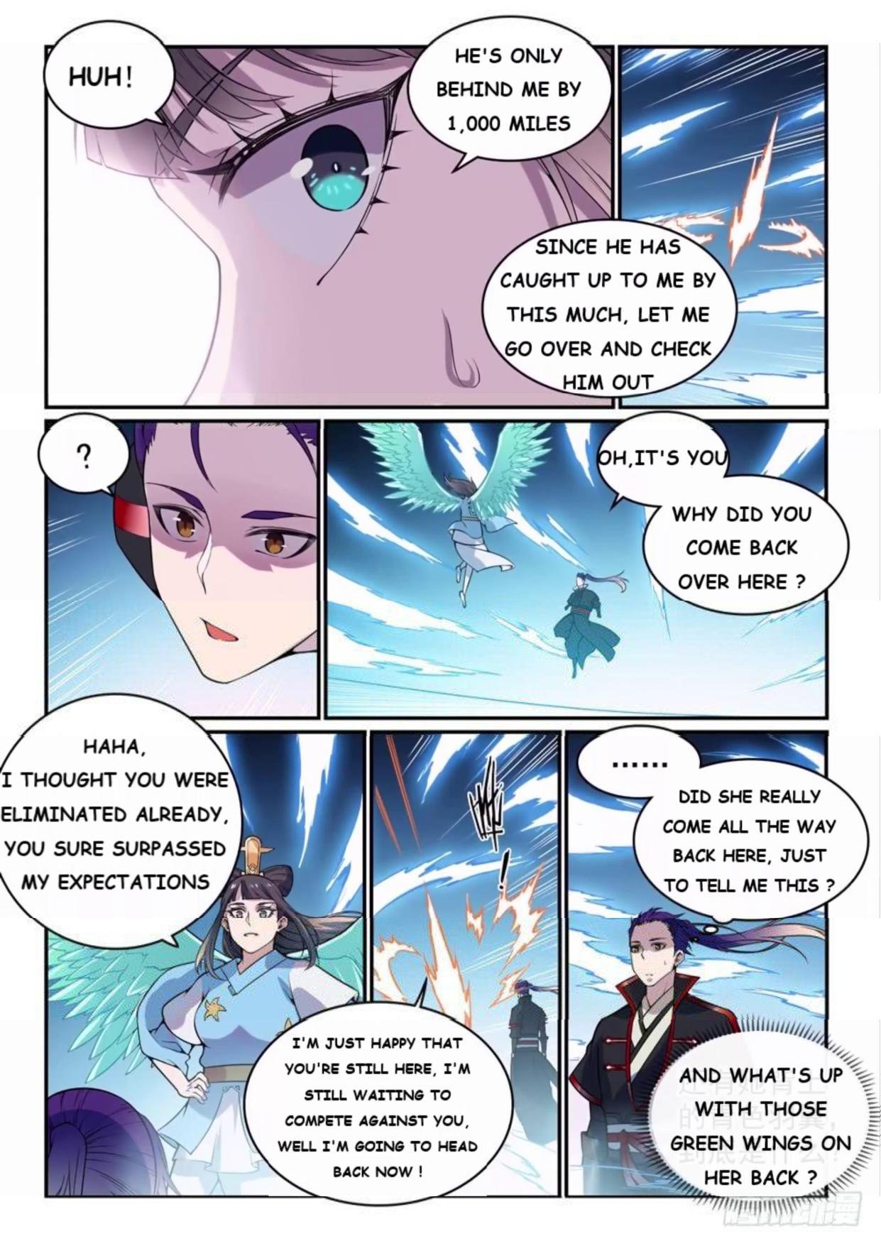 Manga Apotheosis - Chapter 527 Page 14