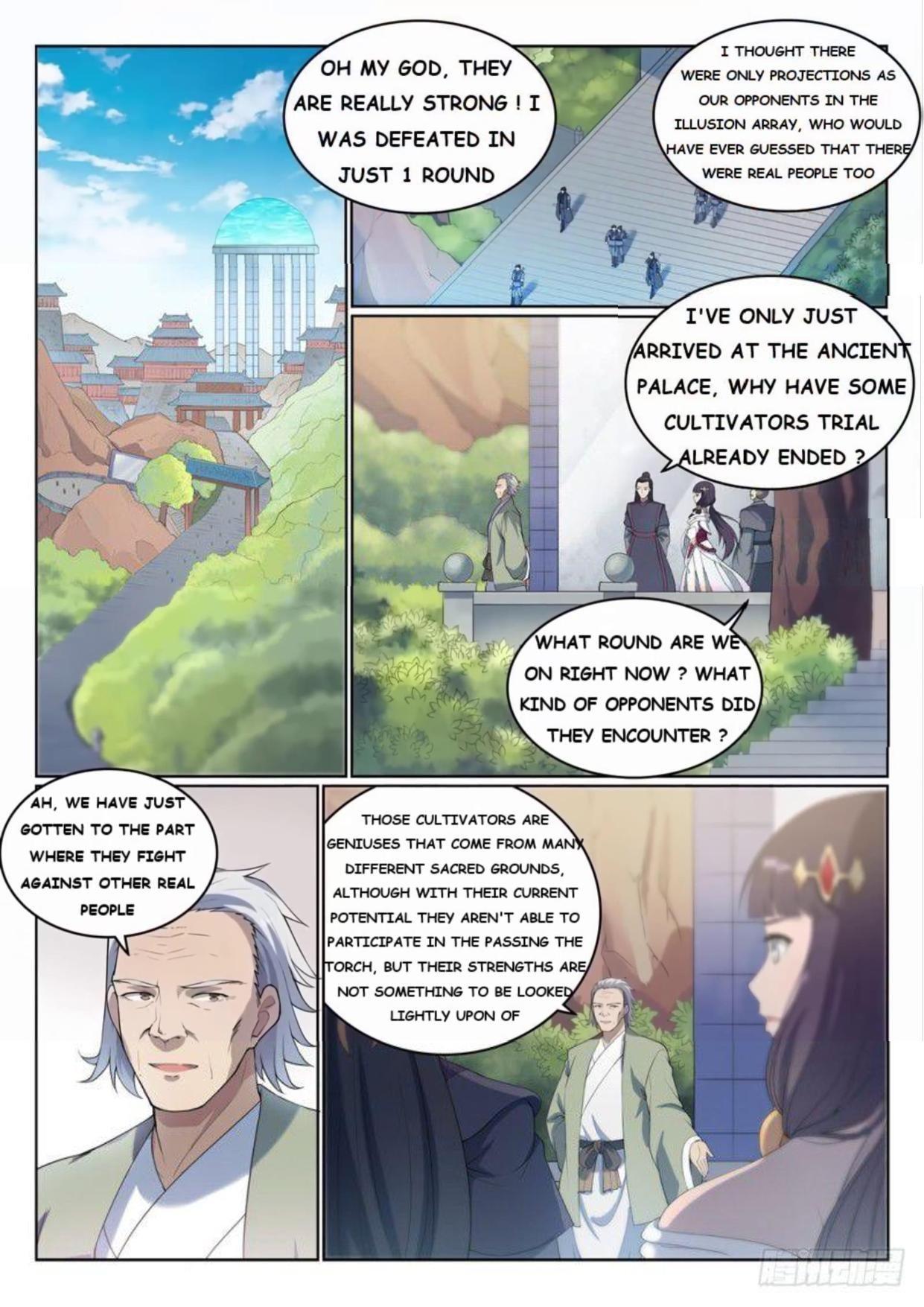 Manga Apotheosis - Chapter 532 Page 1