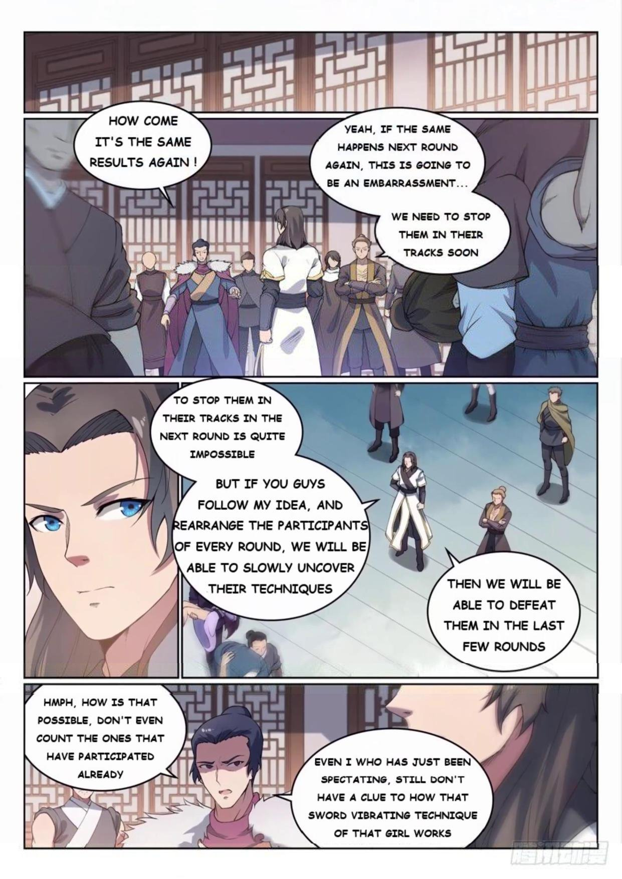 Manga Apotheosis - Chapter 532 Page 9
