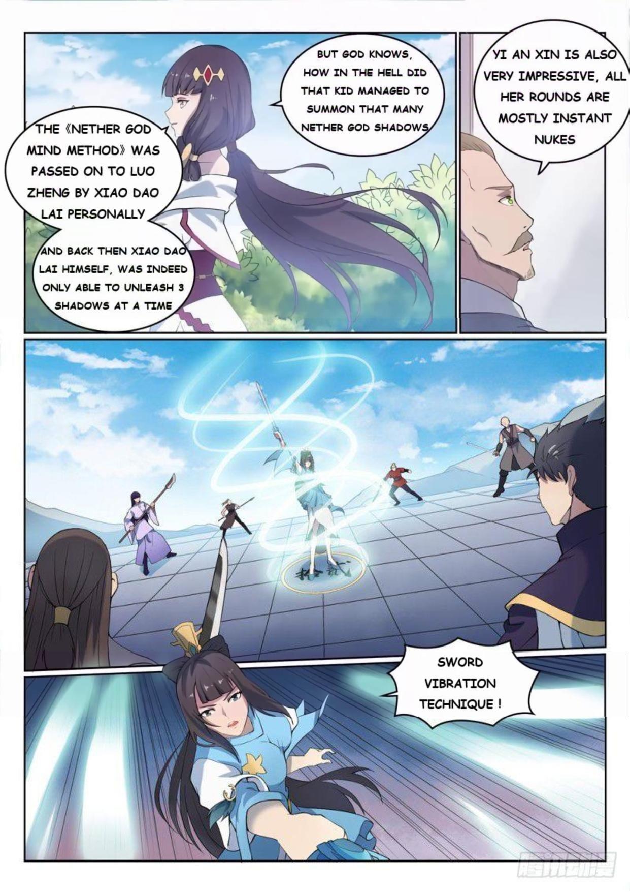 Manga Apotheosis - Chapter 532 Page 7
