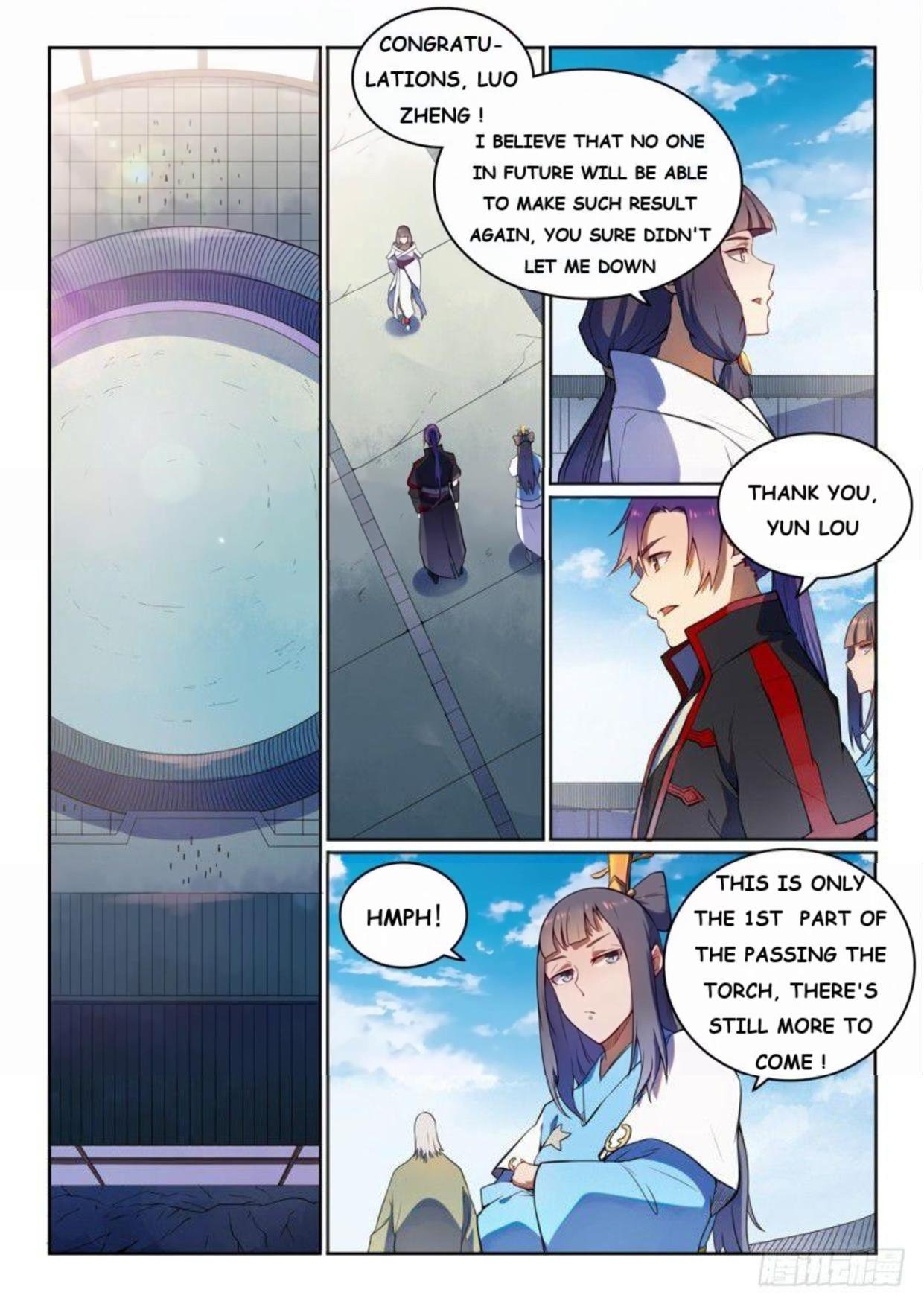 Manga Apotheosis - Chapter 531 Page 7