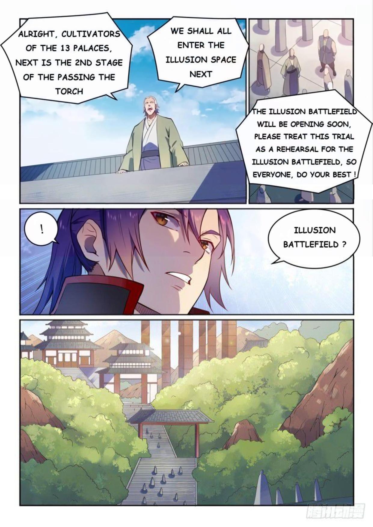 Manga Apotheosis - Chapter 531 Page 8