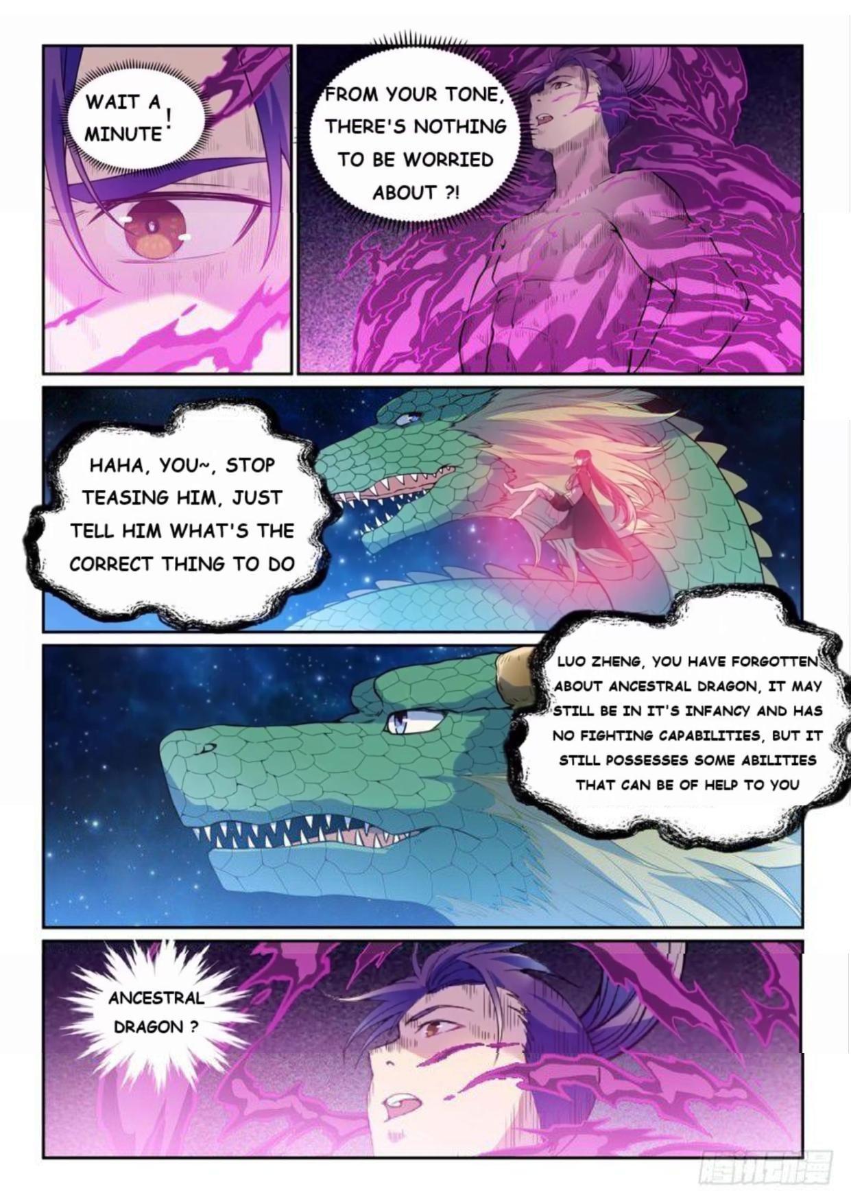 Manga Apotheosis - Chapter 530 Page 7