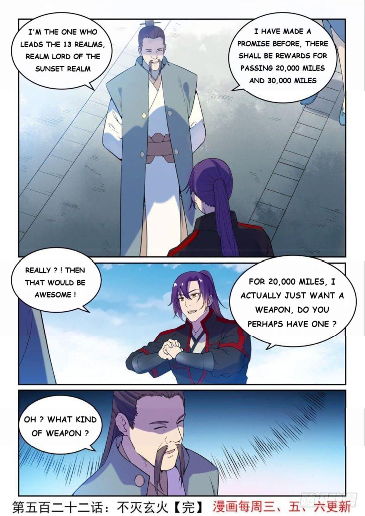 Manga Apotheosis - Chapter 530 Page 15