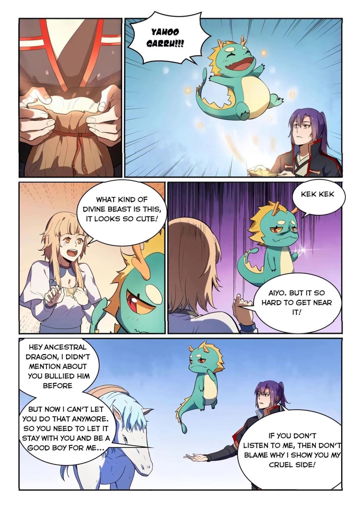 Manga Apotheosis - Chapter 545 Page 11