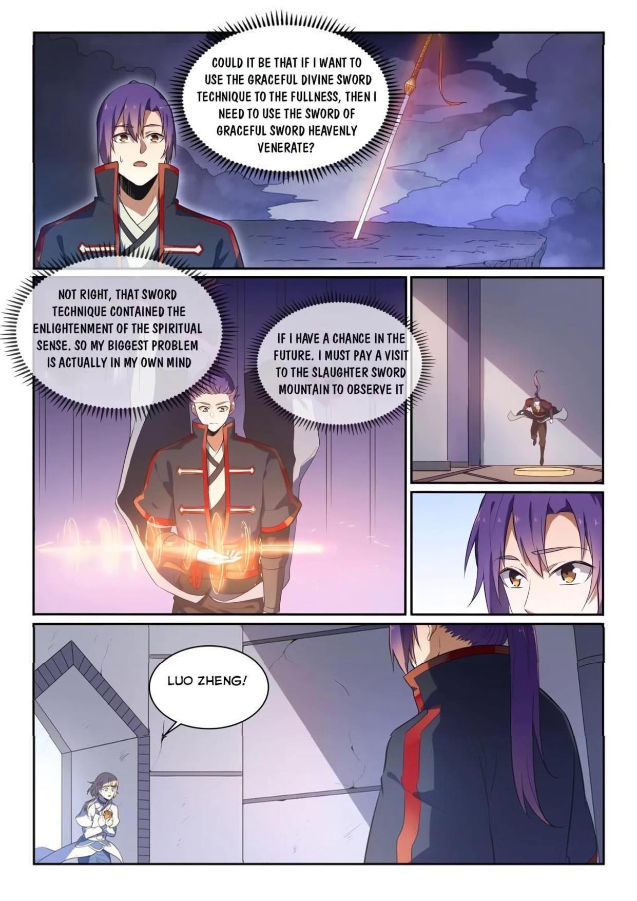 Manga Apotheosis - Chapter 545 Page 5