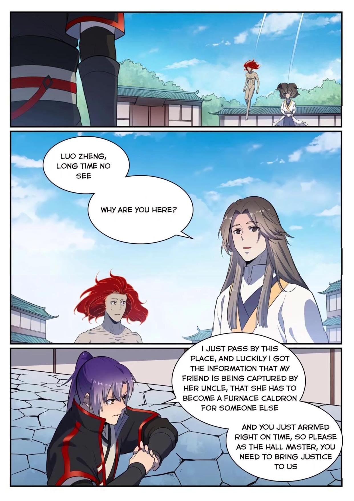 Manga Apotheosis - Chapter 544 Page 10