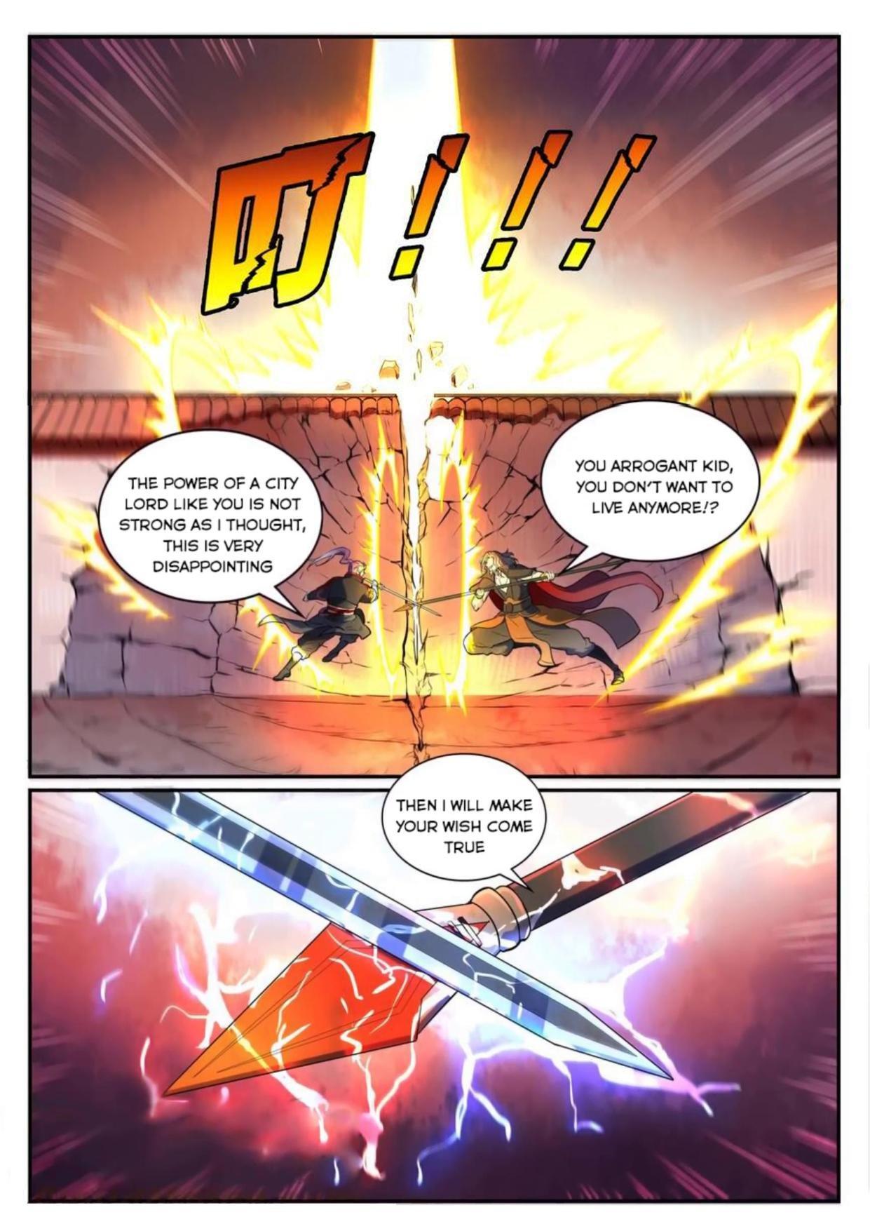 Manga Apotheosis - Chapter 543 Page 11