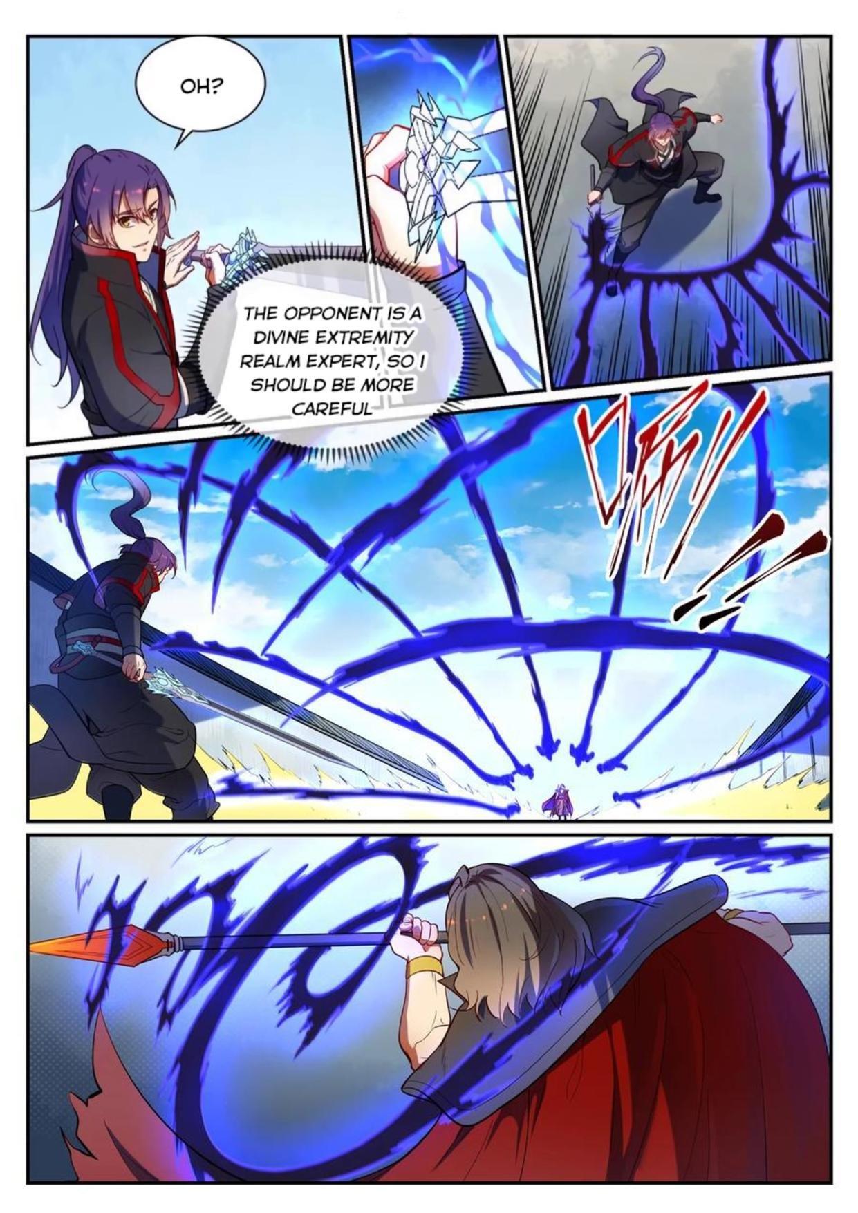 Manga Apotheosis - Chapter 543 Page 9