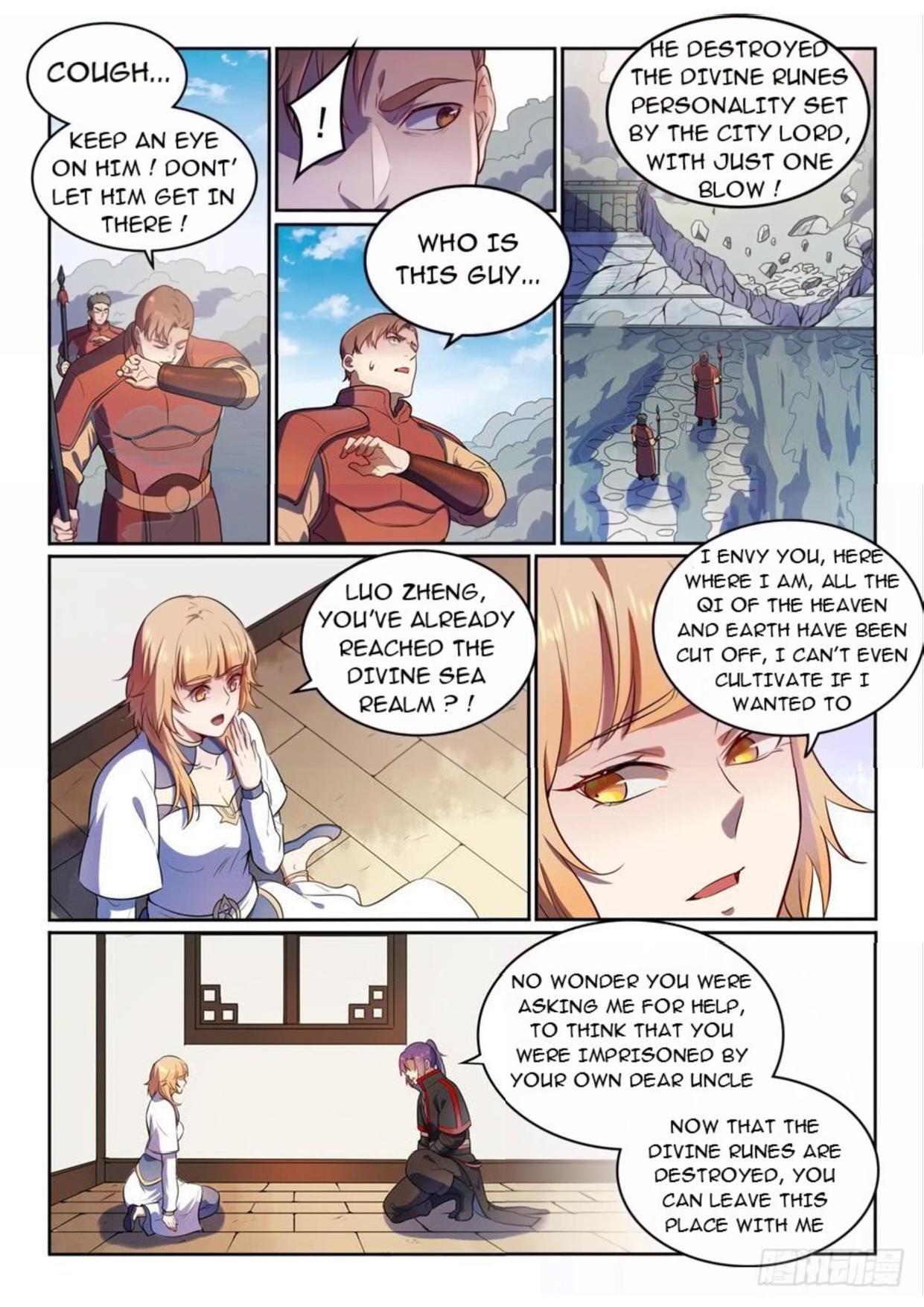 Manga Apotheosis - Chapter 542 Page 12