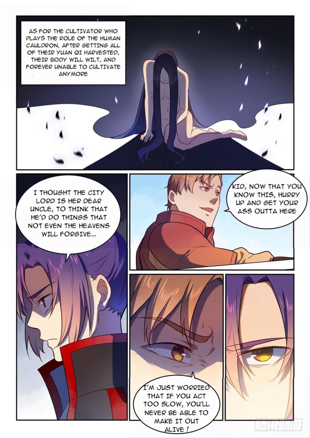 Manga Apotheosis - Chapter 542 Page 9