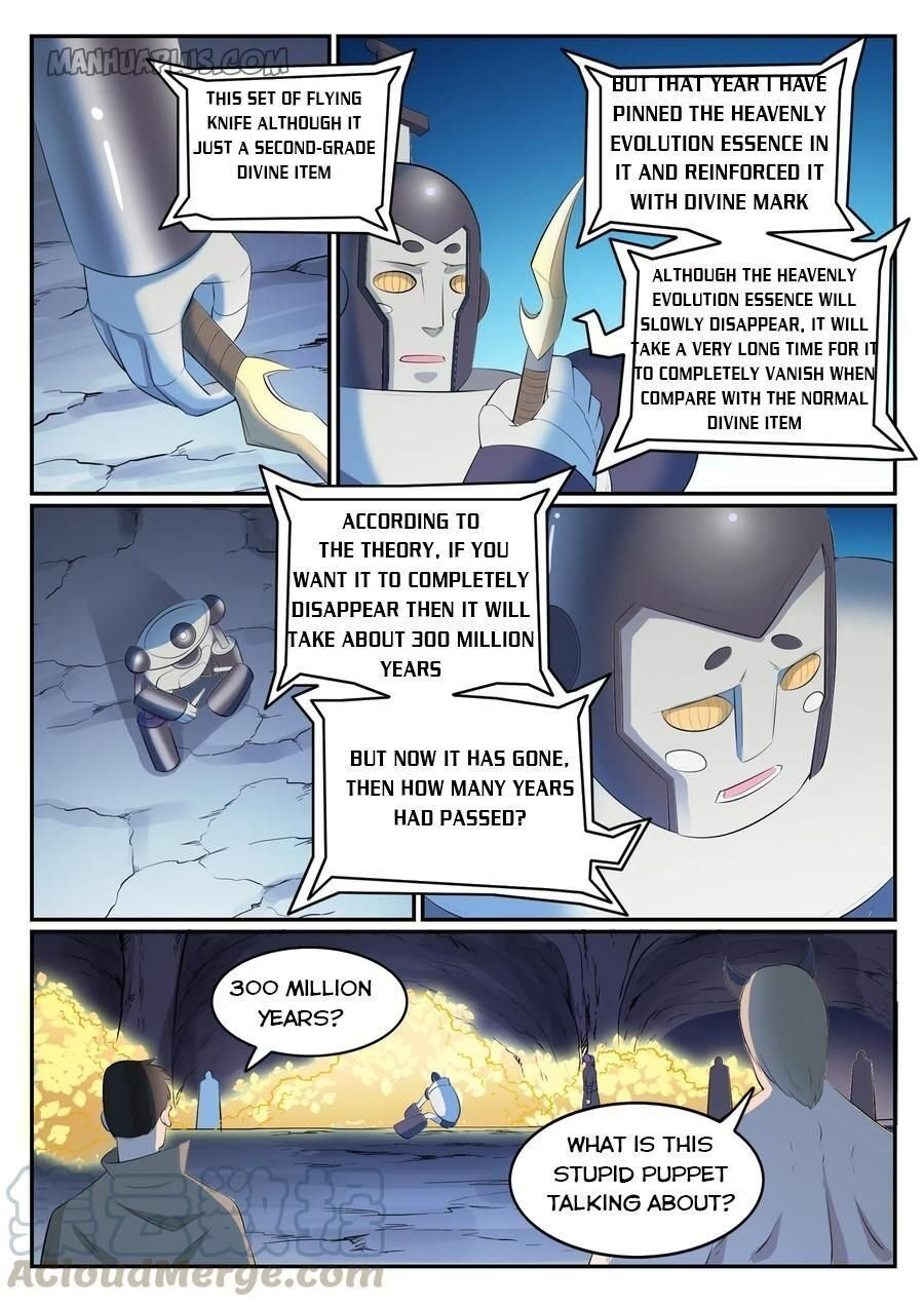Manga Apotheosis - Chapter 556 Page 8
