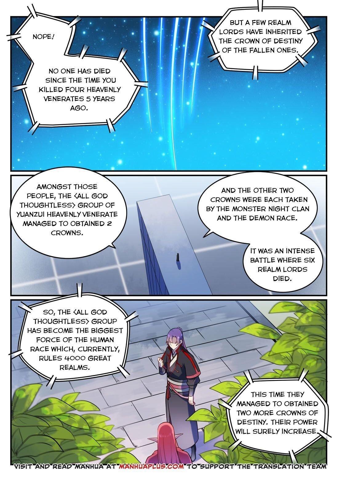 Manga Apotheosis - Chapter 579 Page 11