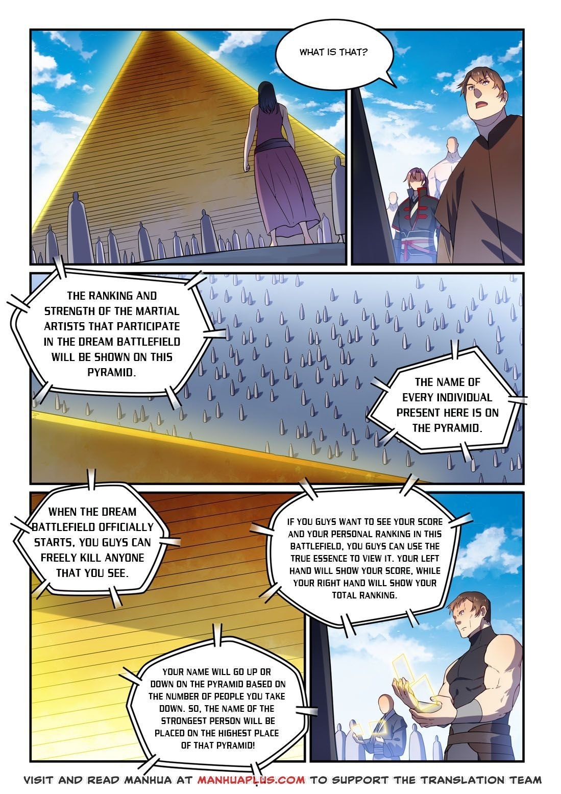 Manga Apotheosis - Chapter 581 Page 1