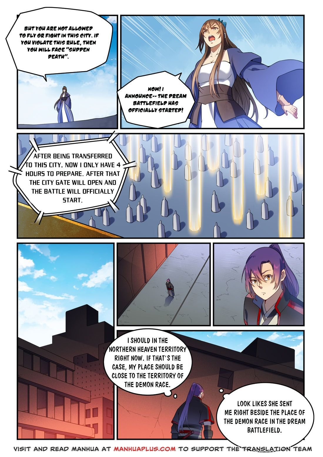 Manga Apotheosis - Chapter 581 Page 2