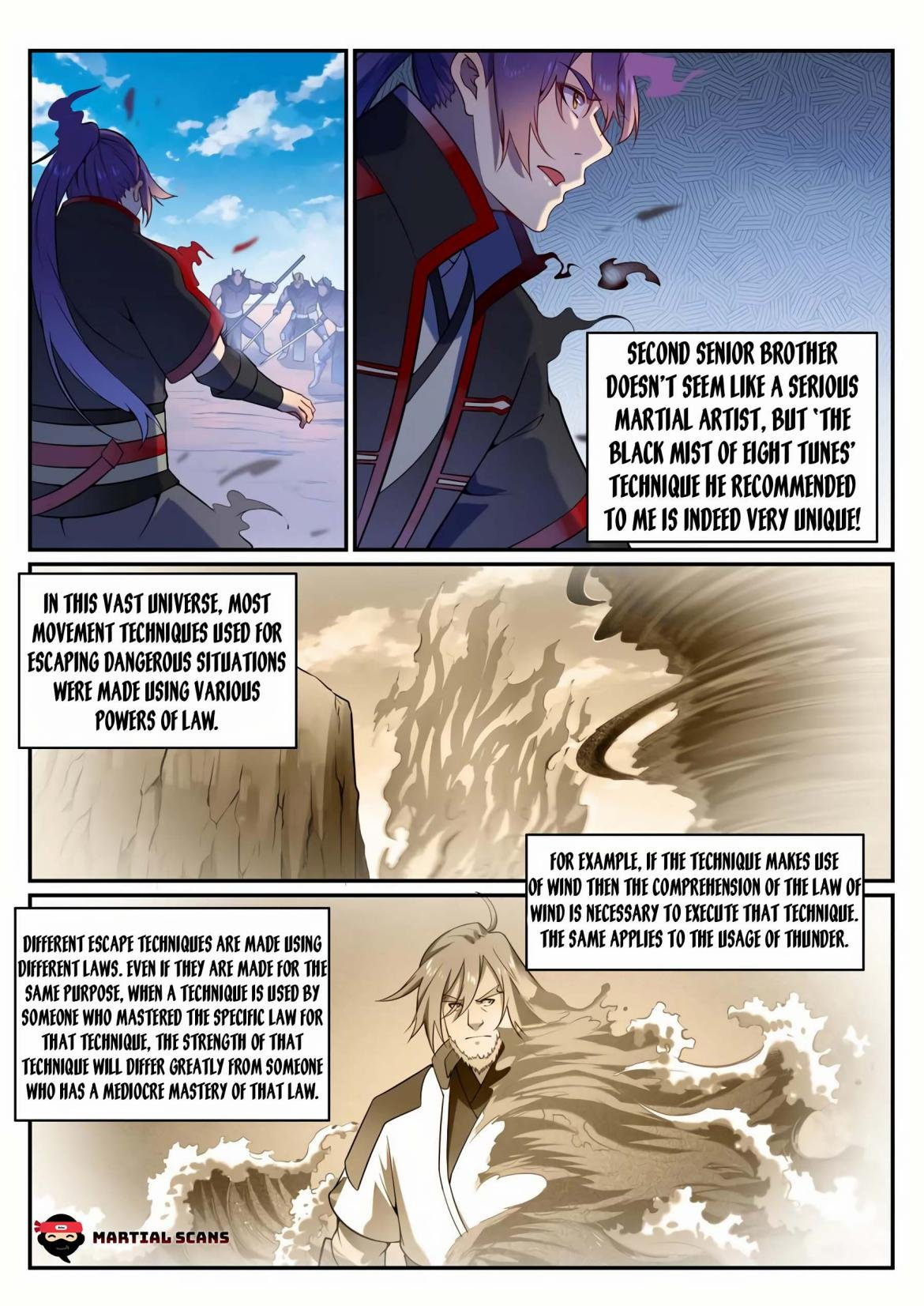 Manga Apotheosis - Chapter 583 Page 2