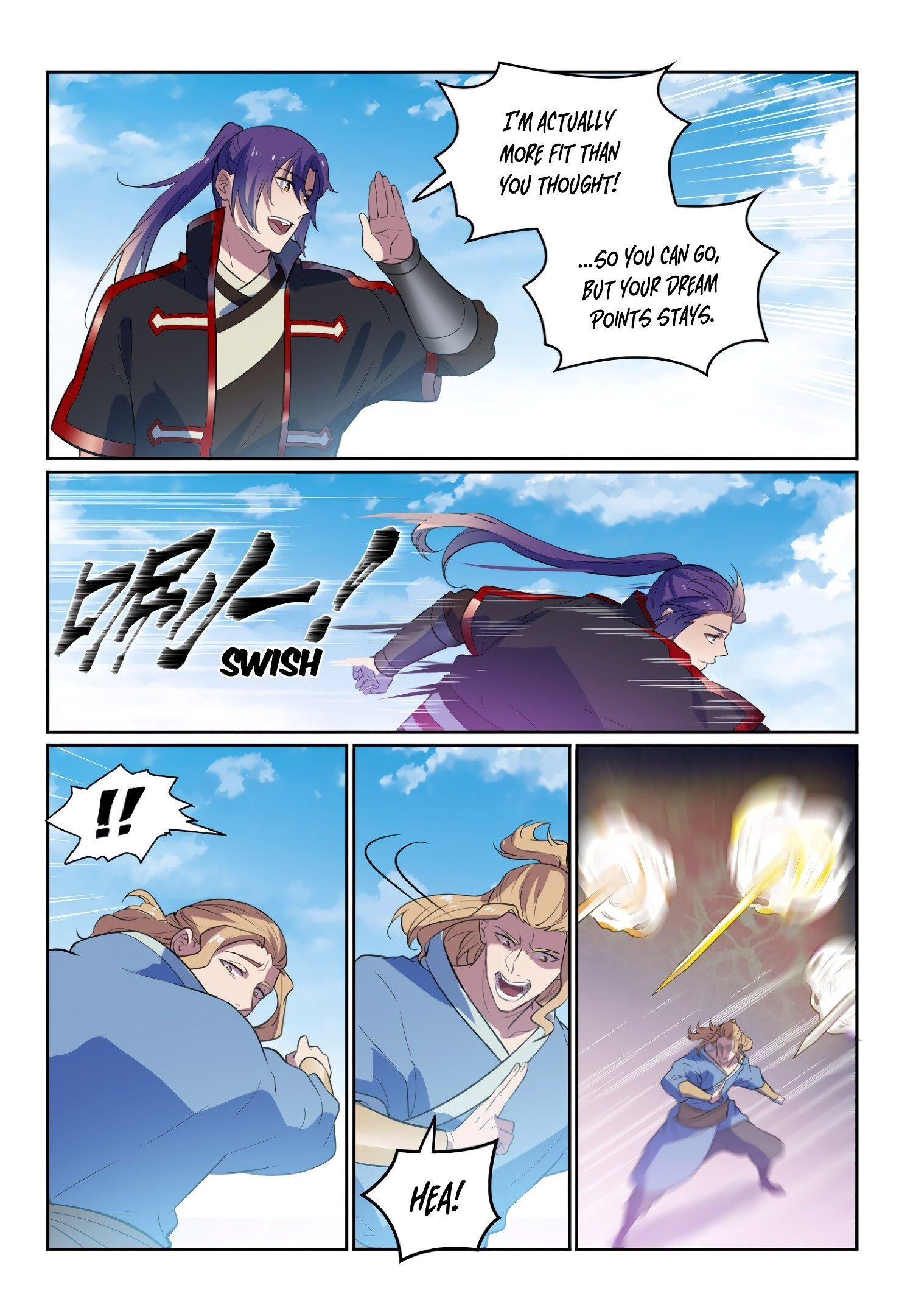 Manga Apotheosis - Chapter 594 Page 11
