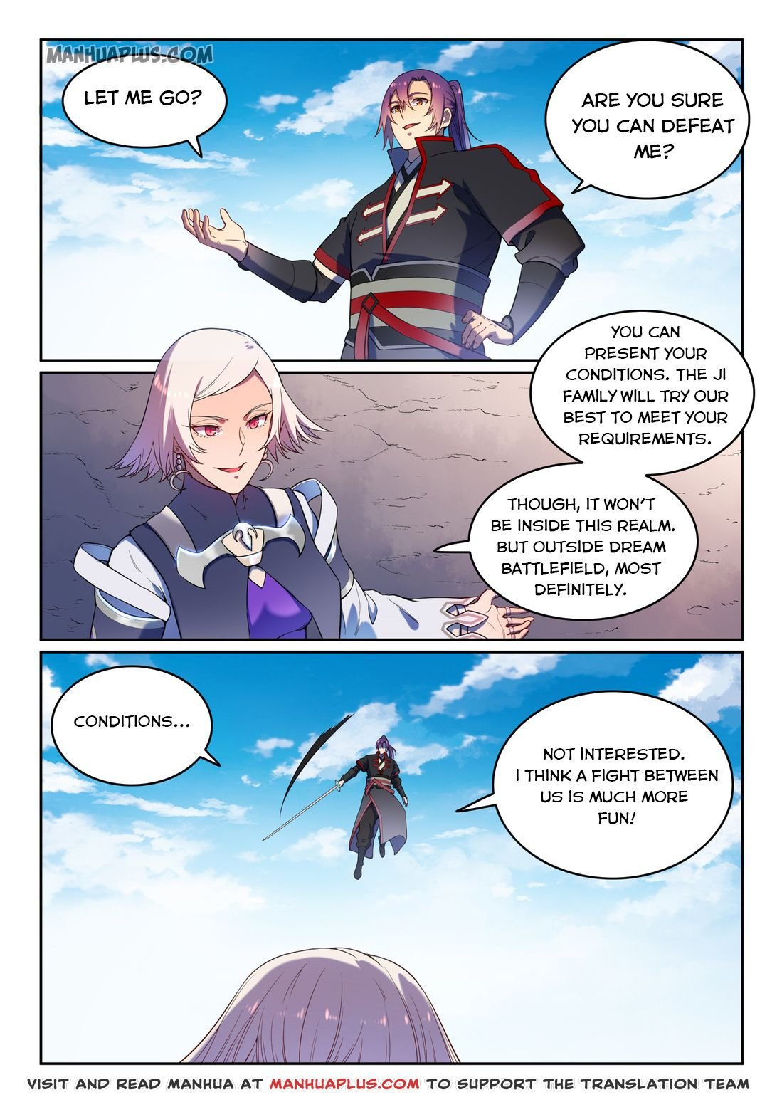 Manga Apotheosis - Chapter 597 Page 13