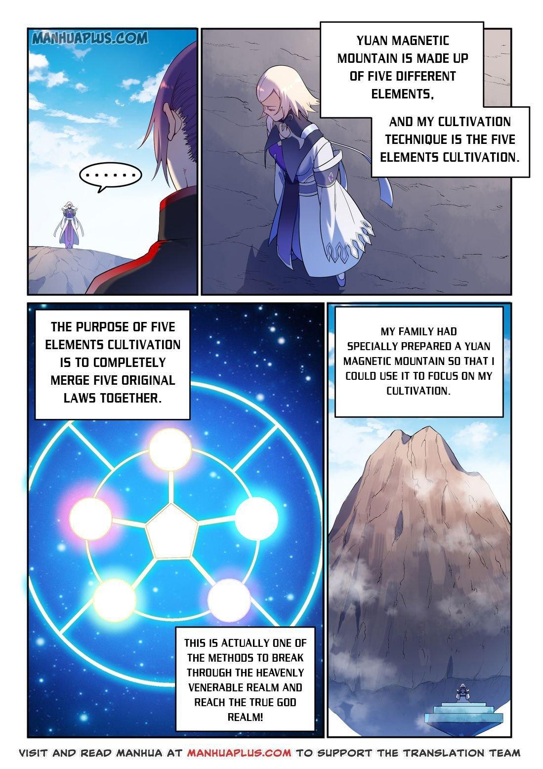 Manga Apotheosis - Chapter 597 Page 11