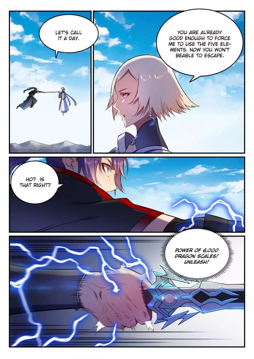 Manga Apotheosis - Chapter 598 Page 11