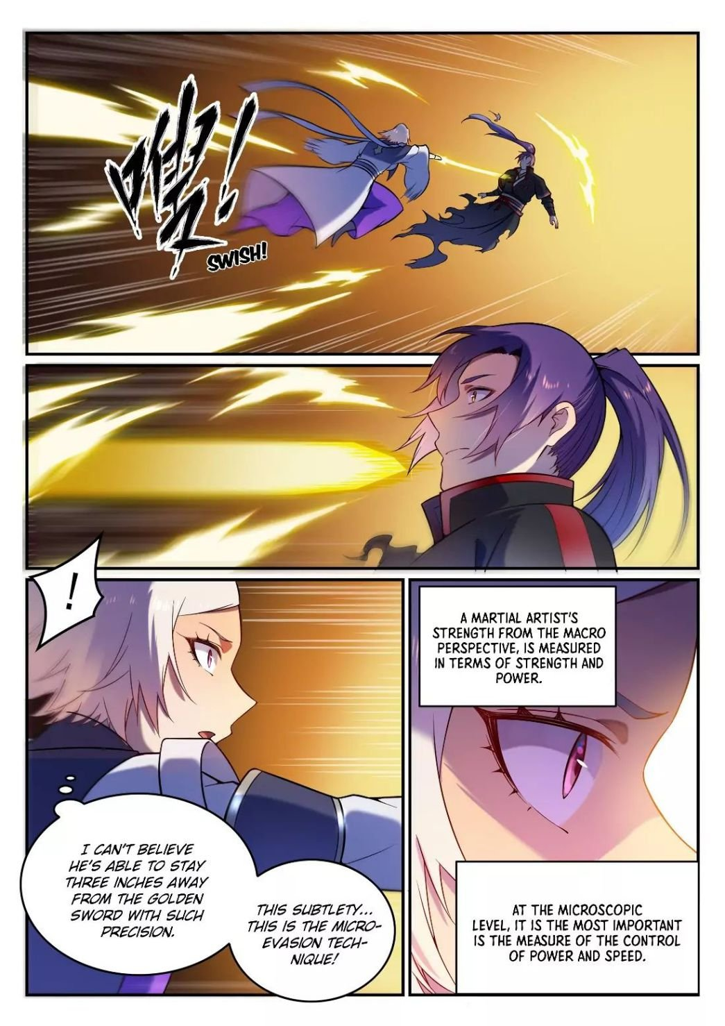 Manga Apotheosis - Chapter 598 Page 8