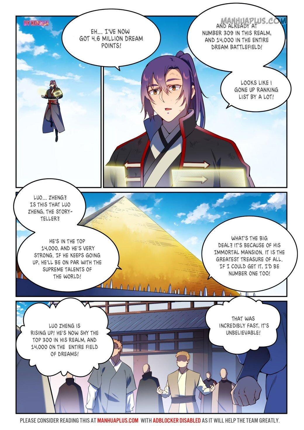 Manga Apotheosis - Chapter 599 Page 13