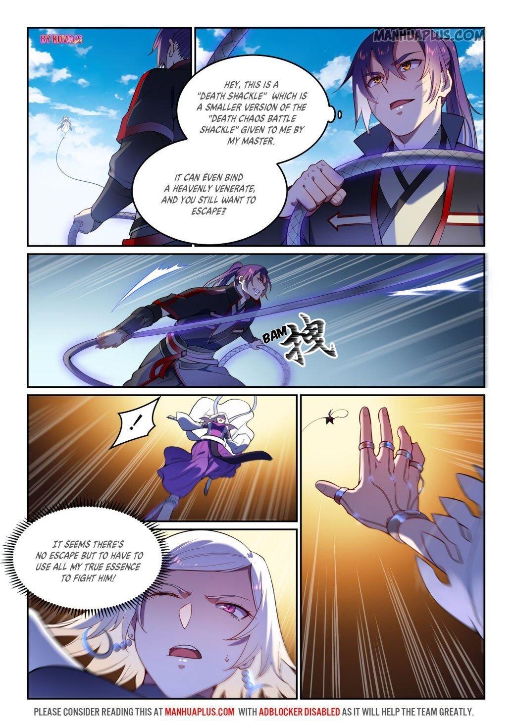 Manga Apotheosis - Chapter 599 Page 9