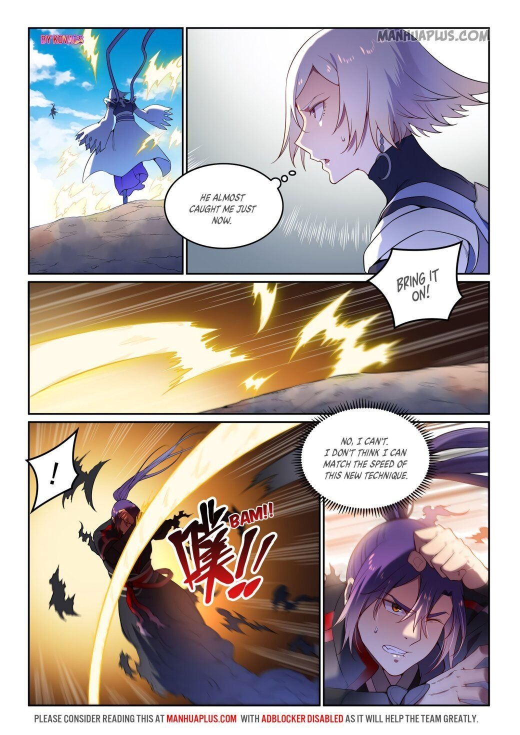 Manga Apotheosis - Chapter 599 Page 4