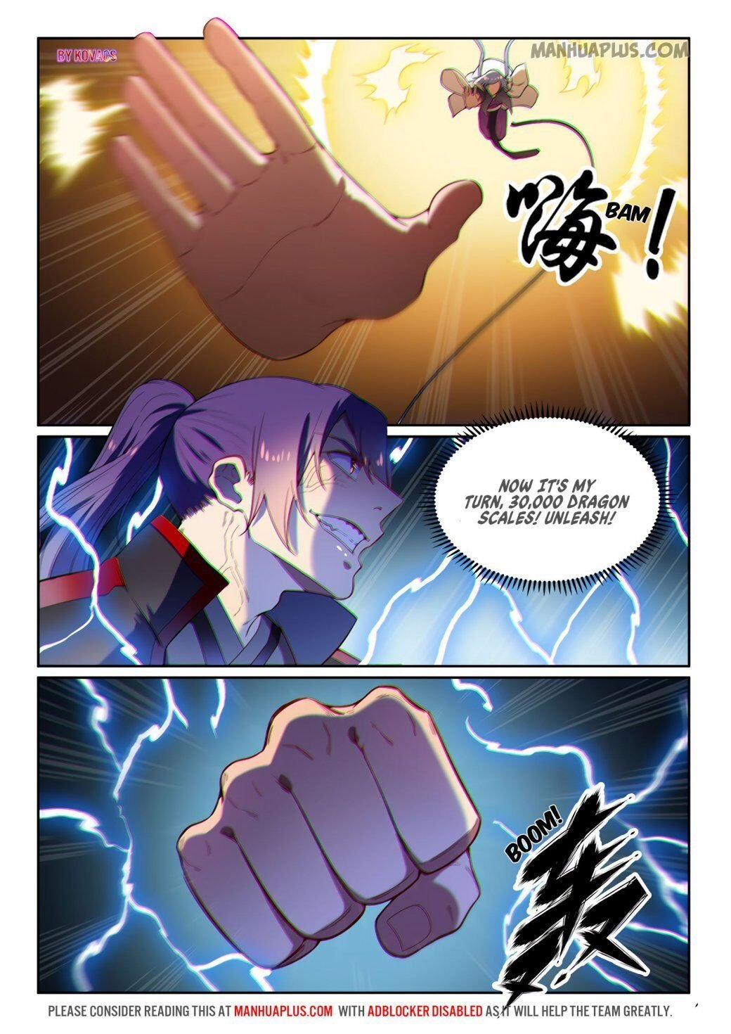 Manga Apotheosis - Chapter 599 Page 10